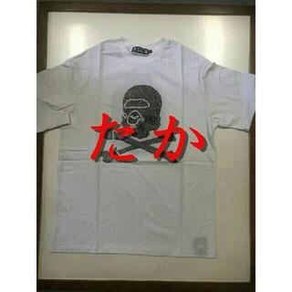 アベイシングエイプ(A BATHING APE)の【新品】BAPE VS Mastermind JAPAN TEE 白S(Tシャツ/カットソー(半袖/袖なし))