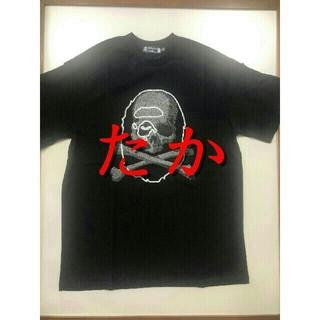 アベイシングエイプ(A BATHING APE)の【新品】BAPE VS Mastermind JAPAN TEE 黒S(Tシャツ/カットソー(半袖/袖なし))