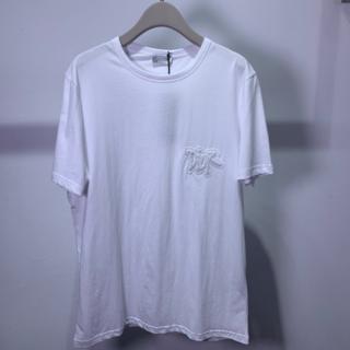 ディオール(Dior)のDior & Shawn ロゴ コットン Tシャツ(Tシャツ/カットソー(半袖/袖なし))