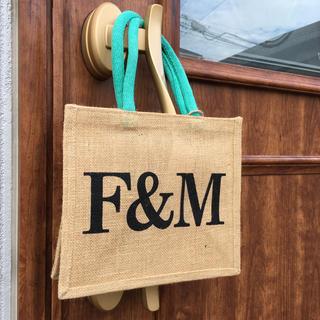 コストコ(コストコ)のフォートナム&メイソン エコバッグ 麻バッグ ちょっとしたお出かけ(エコバッグ)
