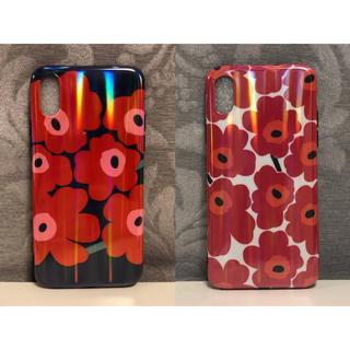 マリメッコ(marimekko)のmarimekko iPhone x/xs case 2点セット(iPhoneケース)