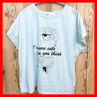 アズノウアズ(AS KNOW AS)のTシャツ 半袖 アズノウアズ レディース サングラス ブランド tシャツ(Tシャツ(半袖/袖なし))