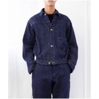 コモリ(COMOLI)のCOMOLI  デニムジャケット  サイズ2  新品未使用(Gジャン/デニムジャケット)