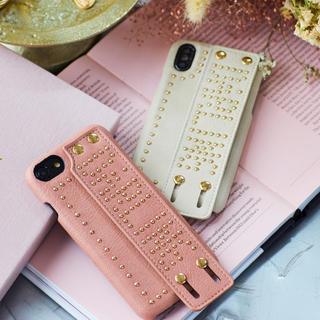 エイミーイストワール(eimy istoire)のDarich iPhone7・8ケース アイボリー(iPhoneケース)