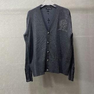 クロムハーツ(Chrome Hearts)のクロムハーツ  刺繍 セーター M サイズ カーディガン(カーディガン)