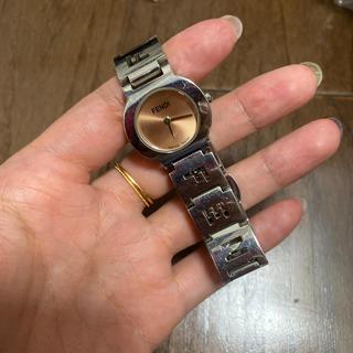 フェンディ(FENDI)のFENDI 時計 ピンク (腕時計)