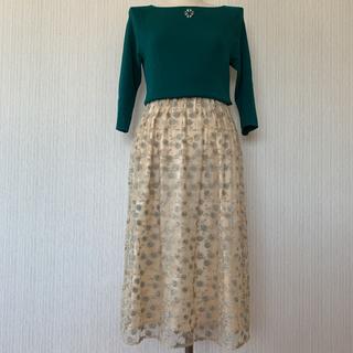 シビラ(Sybilla)の新品❗️Sybilla/シビラ レース刺繍スカート(ロングスカート)