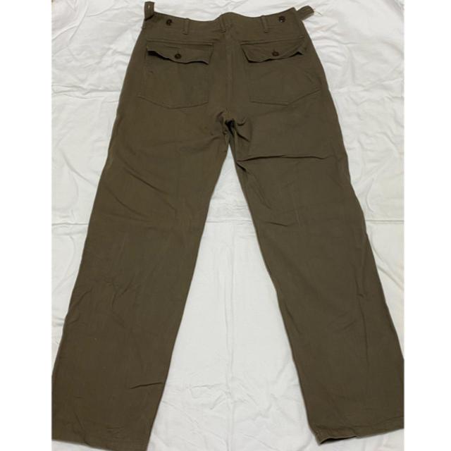WAREHOUSE(ウエアハウス)のWAREHOUSE へリボーン柄パンツ メンズのパンツ(ワークパンツ/カーゴパンツ)の商品写真