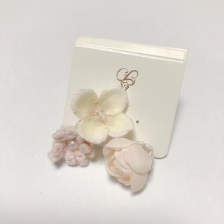 クチュールブローチ(Couture Brooch)のクチュールブローチ お花ピアス(ピアス)