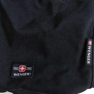 ウェンガー(Wenger)のWENGER・黒色リュック(バッグパック/リュック)