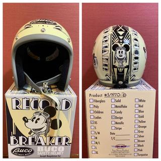 トイズマッコイ(TOYS McCOY)のBUCO   ヘルメット ミッキーマウス(ヘルメット/シールド)