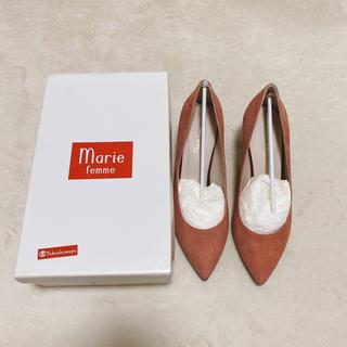 マリーファム(Marie femme)の新品 未使用 マリーファム パンプス ピンク(ハイヒール/パンプス)