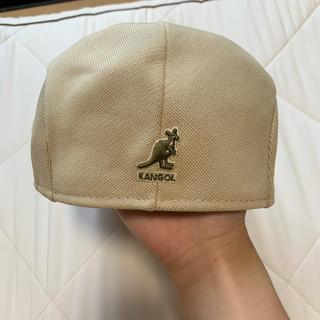 KANGOL - カンゴール ベレー帽 Lサイズ ベージュ