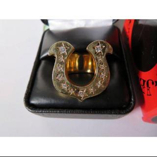 テンダーロイン 18K 美品 13号 ホースシュー 指輪 リング 定価1(リング(指輪))