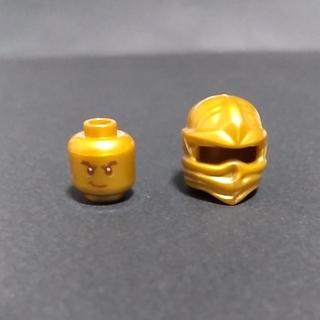 レゴ(Lego)のレゴ 黄金ロイドヘッドと頭巾(積み木/ブロック)