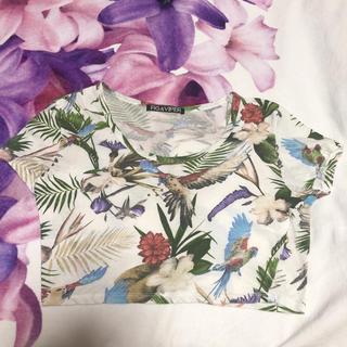 フィグアンドヴァイパー(FIG&VIPER)のFIG&VIPER☆ ショート丈Tシャツ(Tシャツ(半袖/袖なし))