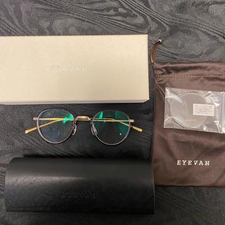 アヤメ(Ayame)のEYEVAN7285 アイバン アイヴァン 眼鏡 メガネ 丸眼鏡(サングラス/メガネ)