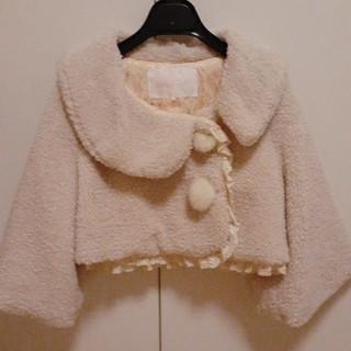 リズリサ(LIZ LISA)のリズリサ ボアショートコート(毛皮/ファーコート)