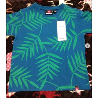 クイックシルバー(QUIKSILVER)のクイックシルバー 100センチ ボタニカルTシャツ 新品(Tシャツ/カットソー)