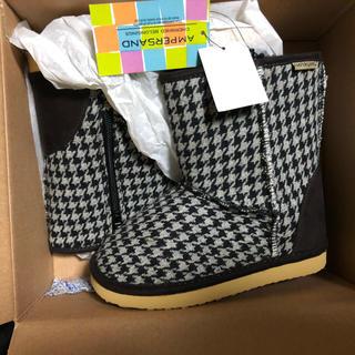 アンパサンド(ampersand)のampersand 18cm 長靴 ブーツ タグ付き未使用 箱入り発送(ブーツ)
