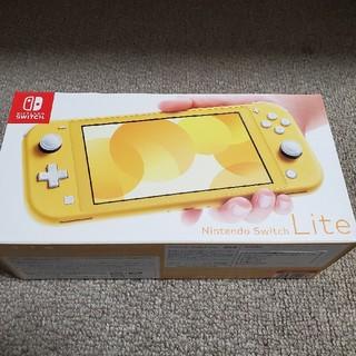 ニンテンドウ(任天堂)のNintendo Switch Lite イエロー  (家庭用ゲーム機本体)