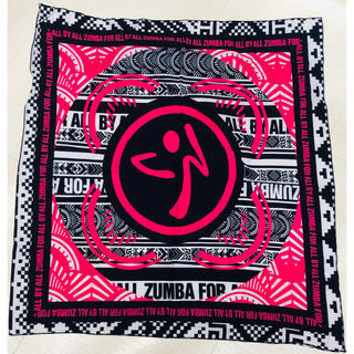 ズンバ(Zumba)のZUMBAバンダナpink(バンダナ/スカーフ)