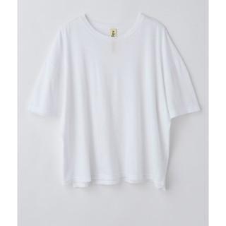 エンフォルド(ENFOLD)の2020prefall ナゴンスタンス Tシャツ ホワイト(Tシャツ(半袖/袖なし))