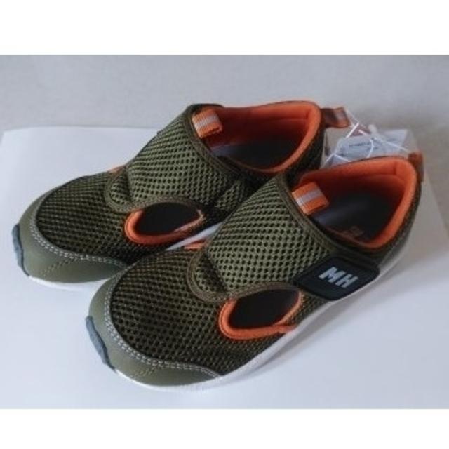 mikihouse(ミキハウス)のミキハウス シューズ サンダル スニーカー くつ 靴 ウォーター キッズ/ベビー/マタニティのキッズ靴/シューズ(15cm~)(サンダル)の商品写真