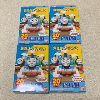 バンダイ(BANDAI)の救急ばんそうこう 機関車トーマス 20枚入り×4パック(キャラクターグッズ)