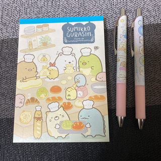 サンエックス(サンエックス)のすみっコぐらし メモ、シャーペン、ボールペンセット(ノート/メモ帳/ふせん)