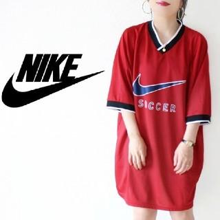 ナイキ(NIKE)の【90s・USA製】激レア! NIKE ロゴ ゲームシャツ ジャージ ワンピース(ミニワンピース)