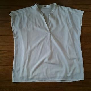 フェリシモ(FELISSIMO)のフェリシモ シフォンブラウス(シャツ/ブラウス(半袖/袖なし))