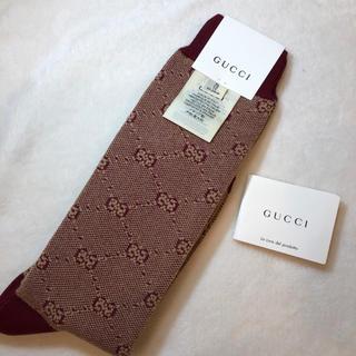 グッチ(Gucci)のグッチGUCCIチルドレンズGGソックス 新品未使用(靴下/タイツ)