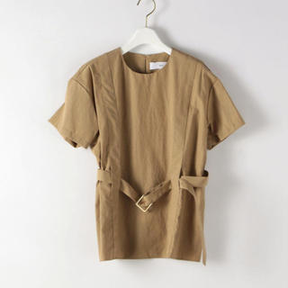 スティーブンアラン(steven alan)のベルテッドショートスリーブ  ブラウス(シャツ/ブラウス(半袖/袖なし))