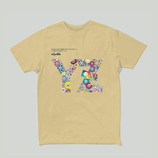 【定価 S】ゆず 限定500 : 村上隆FLOWER x YZ Tシャツ(Tシャツ/カットソー(半袖/袖なし))