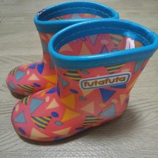 フタフタ(futafuta)のfutafutaポップ柄のレインブーツ(長靴/レインシューズ)