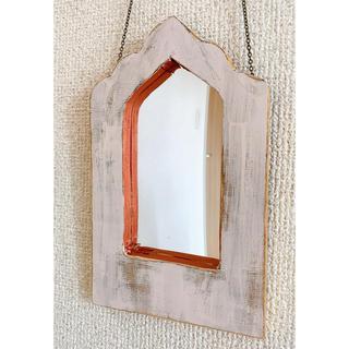 モロッカンミラー 鏡 ハンドメイド(壁掛けミラー)