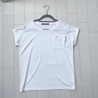 フィグアンドヴァイパー(FIG&VIPER)のfig&viper 胸ポケット付きTシャツ 白T(Tシャツ(半袖/袖なし))