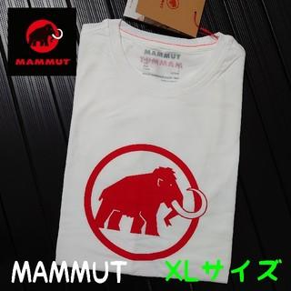 マムート(Mammut)の【新品】 ロゴTシャツ  XLサイズ【MAMMUT】(Tシャツ/カットソー(半袖/袖なし))