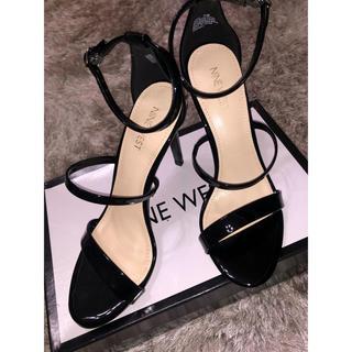 ナインウエスト(NINE WEST)のNINE WEST Ankle Strap Sandals エナメル(ハイヒール/パンプス)