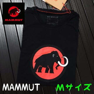 マムート(Mammut)の【新品】 ロゴTシャツ Mサイズ 【MAMMUT】(Tシャツ/カットソー(半袖/袖なし))