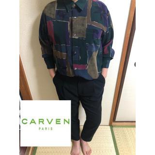 カルヴェン(CARVEN)のcarven paris 柄シャツ メンズシャツ 菅田将暉(シャツ)