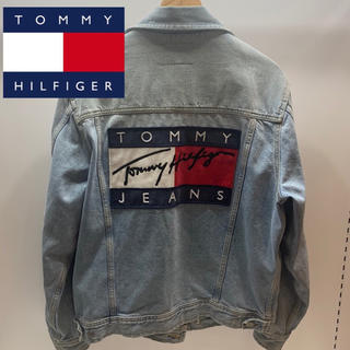 トミーヒルフィガー(TOMMY HILFIGER)の【レア・希少】TOMMY トミー デニムジャケット Gジャン ジージャン(Gジャン/デニムジャケット)