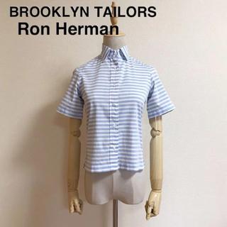 ロンハーマン(Ron Herman)のBROOKLYN TAILORSxRon Herman コットンシャツ(シャツ/ブラウス(半袖/袖なし))