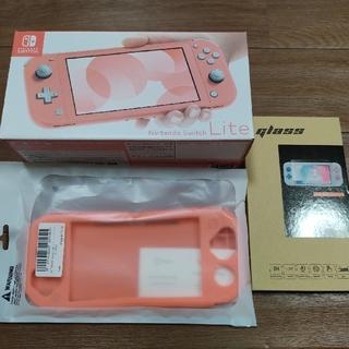 ニンテンドースイッチ(Nintendo Switch)の新品 任天堂 スイッチライト nintendo Switch Lite コーラル(携帯用ゲーム機本体)