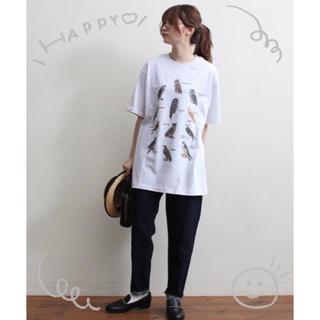 fig London - fig London souvenir owl Tシャツ  Lサイズ 🎵