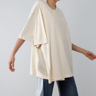 マルタンマルジェラ(Maison Martin Margiela)のマルジェラ レイヤーTシャツ(カットソー(半袖/袖なし))