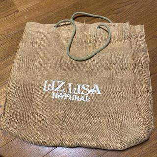 リズリサ(LIZ LISA)のリズリサ 麻 ショップバッグ(ショップ袋)