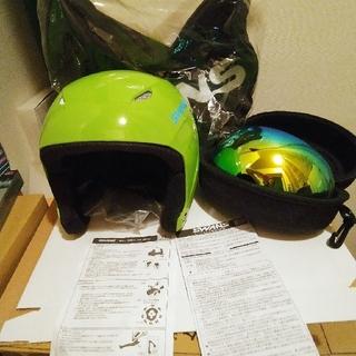 シーズン到来‼️swans スノーヘルメットとスノーゴーグルセット 訳あり 美品