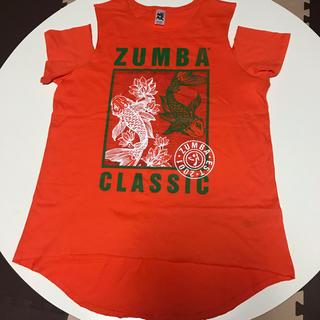 ズンバ(Zumba)の【新品・未使用品】 ZUMBA®︎ウェア オレンジ トップス(ダンス/バレエ)